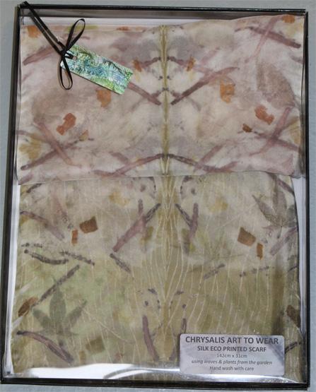 Ecoprinted Scarves